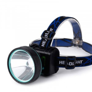 LED Head Lamp Strong Light Night Riding Miner's Lamp White Light Searchlight Rechargeable Long-range Flashlight T6