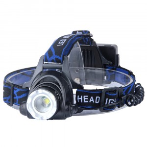 Headlight 3 Modes Moving Light Car Charger With Led Light USB Cable Super Bright LED Rechargeable Headlamp