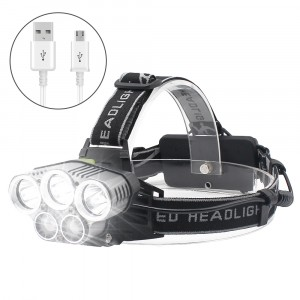 Led Headlamp High Lumens ,Rechargeable Ultra Bright Headlight ,6 Modes,,Waterproof Sensor Headlamp Flashlight,Safety Light for Adults and Kids