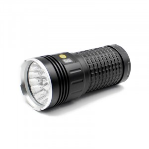 2020 New Aluminum Alloy Super High-power 18 Leds Flashlight For Hunting Climb Outdoor