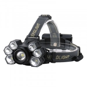 2020 Newest High Power 7T6 LED Headlamp Zoomable Head Lamp USB Rechargeable Headlamp